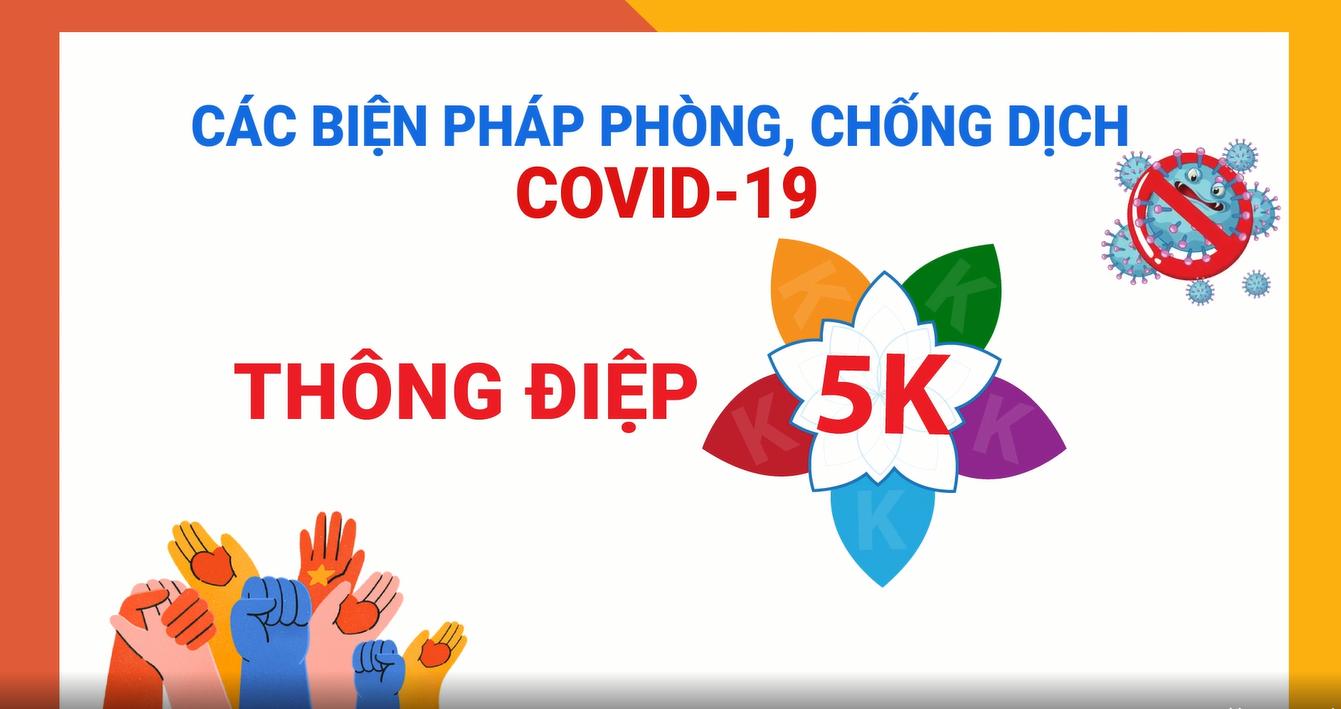 Thông điệp 5K - PCD COVID-19